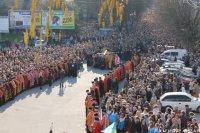 Тернопільська ОДТРК здійснила телетрансляцію багатотисячної Хресної дороги
