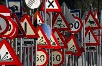 «Автомайданівці» провели ревізію дорожніх знаків
