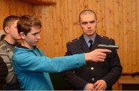 Військової справи навчали учнів ПТУ тернопільські правоохоронці
