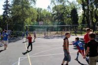 У Тернополі - новий спортивний майданчик