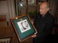 У Тернополі відкрили виставку екслібрисів Ярослава Омеляна